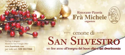 """Cenone di """"San Silvestro"""""""