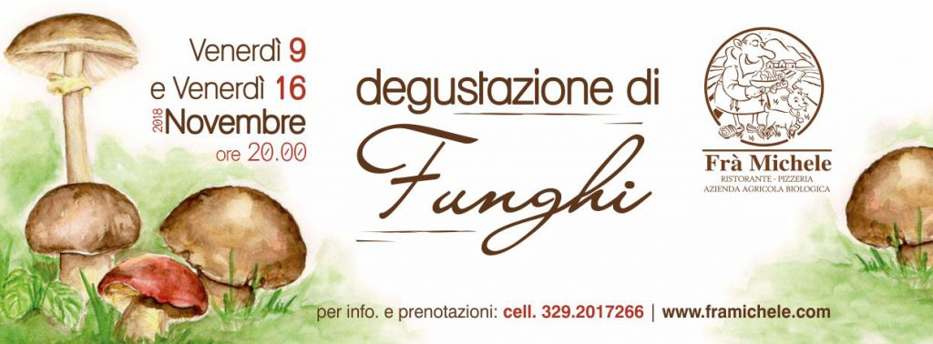 Degustazione di Funghi